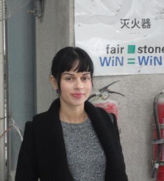 Maria Zemann-Manikowska  Fair Stone Representative China